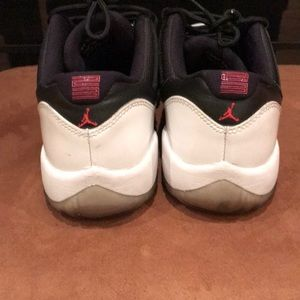 97f134af5145dc Jordan Shoes - Jordan 11 Low Tuxedo. Youth size 6.
